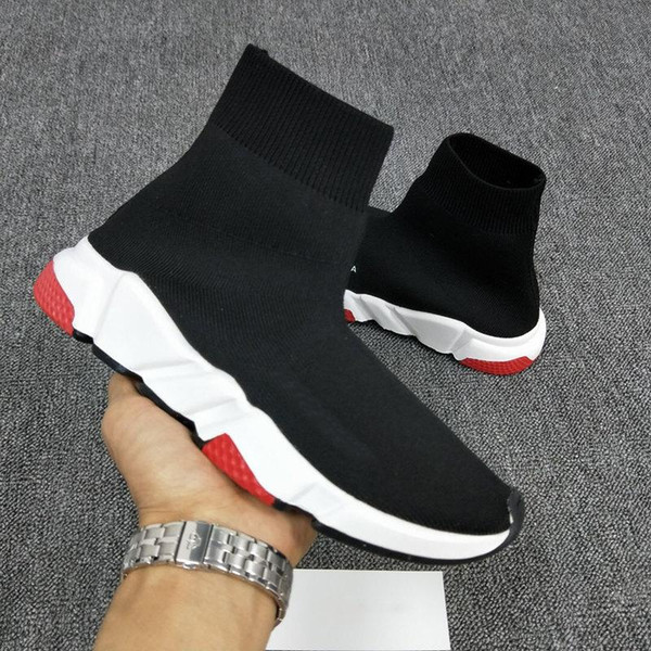 designer Luxury Sock Shoes Casual Shoe Speed Trainer High Quality Sneakers Speed Trainer Sock Race Runners Shoes men Luxury Shoe with box