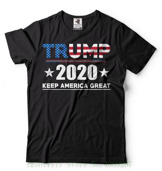 Trumpf 2020 Wiederwahlkampagne-T-Shirt Behalten Sie amerikanische große republikanische Hemd-Zeichentrickfilm-Figur