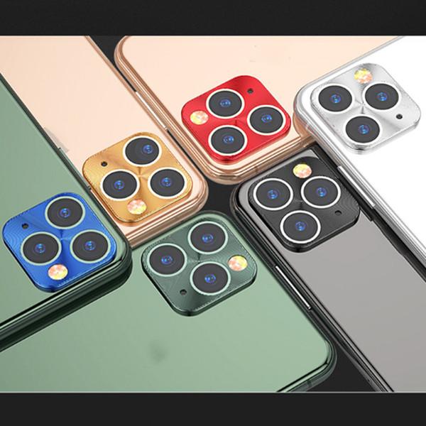 Объектив камеры Защитная пленка для телефона 11 Pro Max Metal Camera Len Защитная крышка для