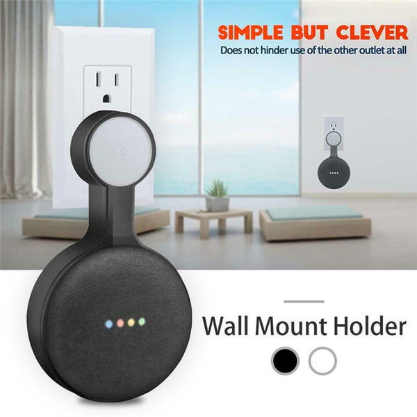 Outlet Wall Mount Stand Hanger Holder For Google Home Mini Voice Assistant  Smart Home Automation Diy Home Automation Arduino Home Automation From
