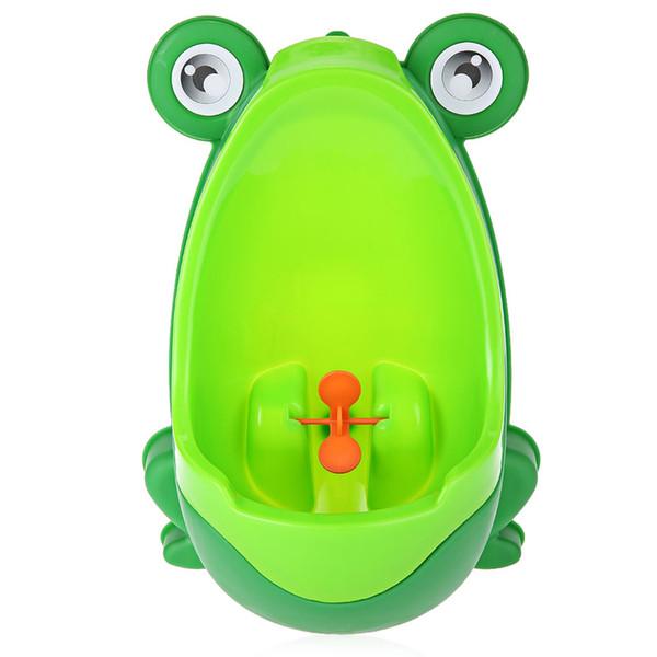 Training Potties Seats Portable Potty Urinal Standing Toilet Penico Frog Shape Kids Boy Bathroom Potty Urinal Toilet Closet Learning trai...