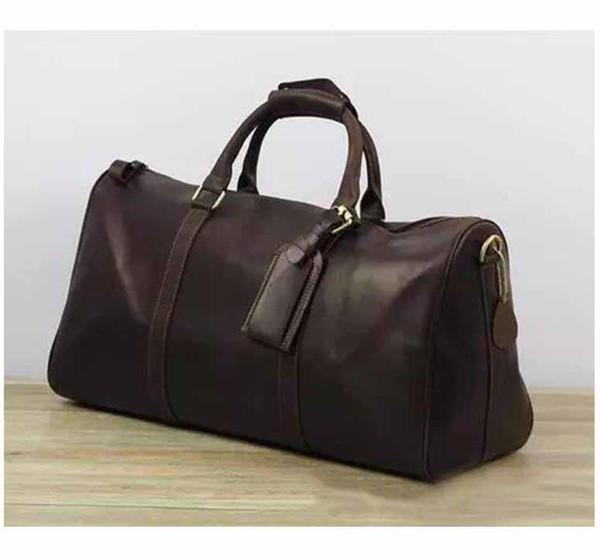 57e9eab0f3 2019 New Fashion Men Women Travel Bag Duffel Bags, Brand Designer Luggage  Handbags Large Capacity Sport Bag 62CM Luggages Bags Messenger Mens  Shoulder ...