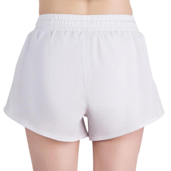 Para Accidental Quemado Exposición Deportes Pantalones Bolsillo Compre Cintura Correr Mujer Cremallera Accidentes Cortos Elástica De Yoga otdrBshQCx