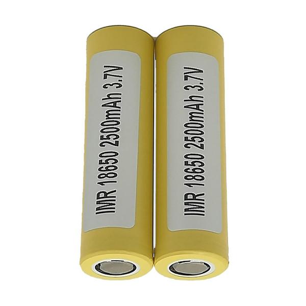 100% lg he4 18650 battery 2500mah 3.7v 18650 batteries rechargable lithium batteries fedex ups ing