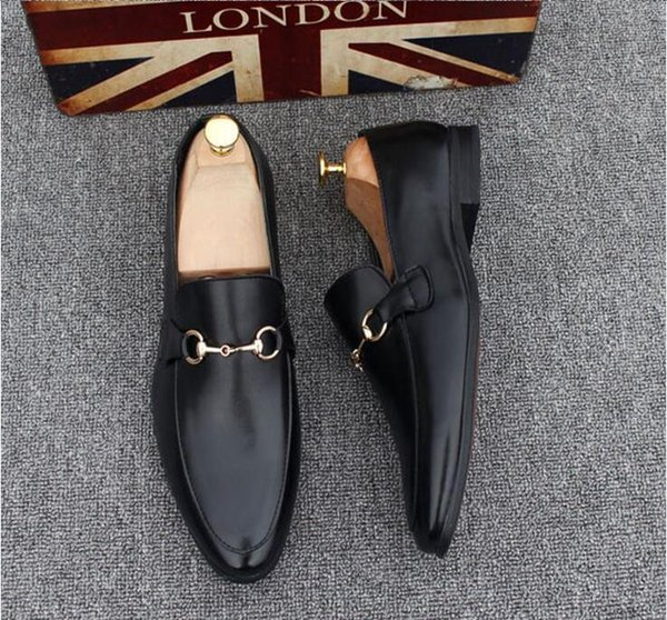 2019 Men's Shoes Luxury Genuine Leather Casual Driving Oxfords Flats Shoes Mens Loafers Moccasins Italian Shoes for Men