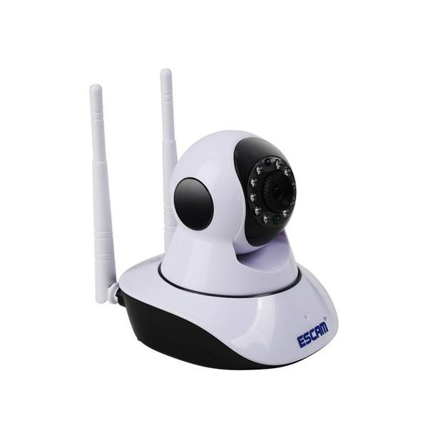 Escam g02 çift anten wifi ip kamera hd 720 p pan tilt kamera ir gece görüş wifi onvif ptz kamera ir-cut mini p2p wifi wifi kameralar