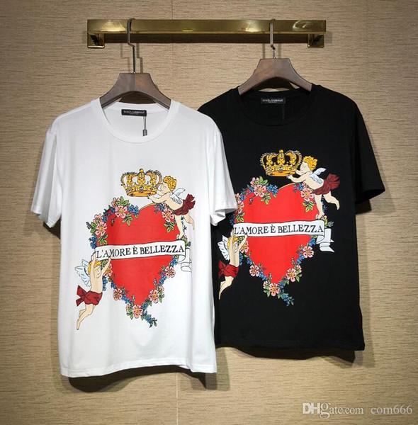 2019 T-shirt uomo Polo fornitura nuovo design yeezus Tshirts marchio di alta qualità nuovo O-collo manica corta aapes t-shirt da donna felpa