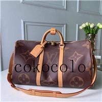 2020 news KEEPALL BANDOULIÈRE 50 Travel Bag Famous Duffel Bag High Quality Weekend Bags Shoulder Handbag outdoor Packs Hiking Bag Crossb9a5#