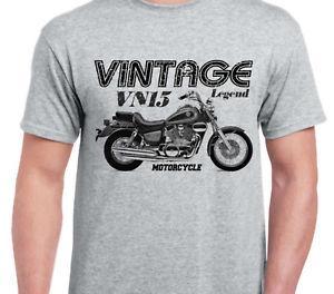 Kısa Kollu VN15 94 vintage motosiklet klasik bisiklet gömlek ilham