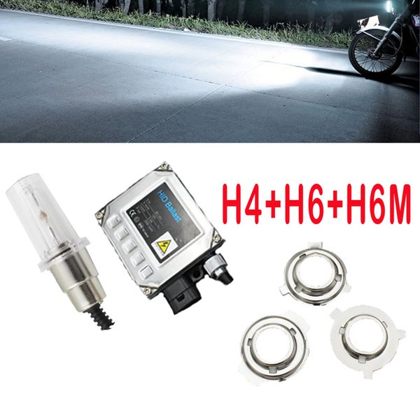 Motorcycle headlight xenon Motorcycle Light high power h4 H6 Mh6 Socket G5 Slim Ballast Xenon 4300K 6000K 8000K 12000K light