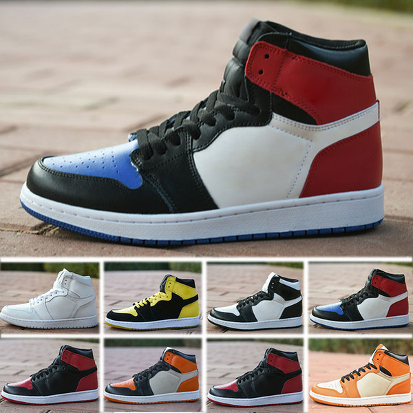 Nike Air Jordan 1 4 6 11 12 13 OG Zapatos de baloncesto Hombre Chicago 1S 6 anillos Zapatillas de deporte Bred Toe Zapatillas de deporte MUJERES MEDIAS New Love UNC Calzado deportivo tamaño 36-47