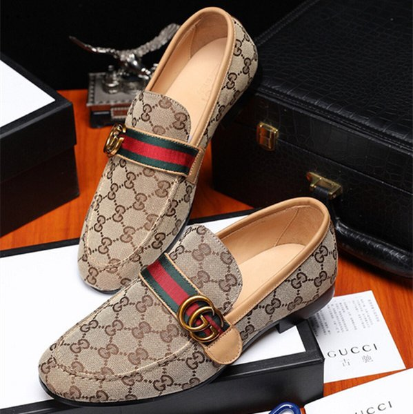 2019 Men luxurious Designers street Trendy gentleman oxfords shoes Homecoming Male Wedding prom Dress flats Shoes zapatos hombre