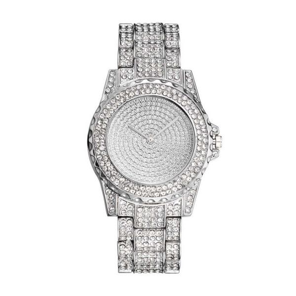 32 *Luxury Flash Drilling Quartz Watches montre femme Leather