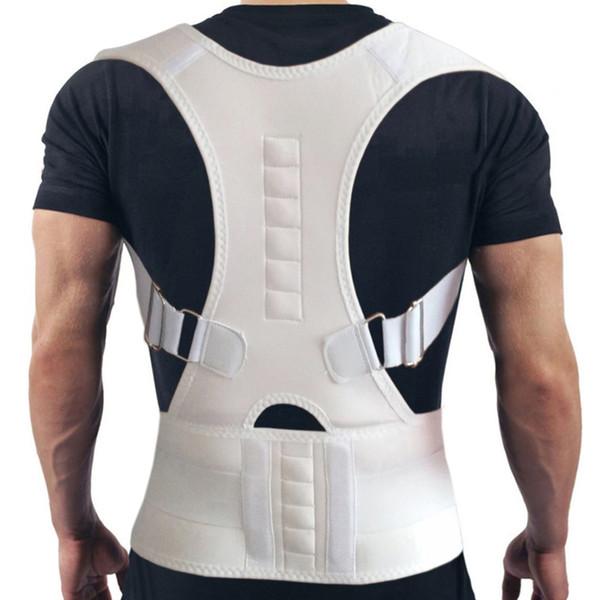 Therapy Magnetic Posture Corrector Brace Back Shoulder Support Belt for Men Women Shoulder Posture Braces & Supports Belt XXL #366176
