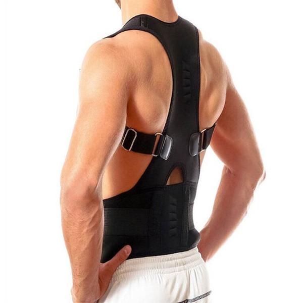 Professional Men Women Adjustable Magnetic Therapy Posture Corrector Support Belt Shoulder Back Protect Waist And Back #655002