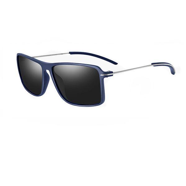 Man Woman New Fashion Big Frame Sunglasses PC Matarial Super Light Eyewear Super Thin Metal Temples Polarized UV400 Lens Free Shipping R987