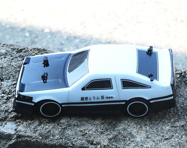 1:24 4WD lecteur de voiture à dérive rapide à distance de voiture de contrôle AE86 modèle 2.4G Radio Control véhicule tout-terrain RC Drift jouet