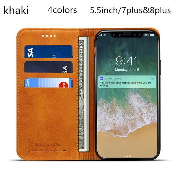 Novo 5.5 polegadas 7 plus8plus casos de telefone mulheres carteiras designer de moda embreagens casuais com cartão de 4 cores no1938