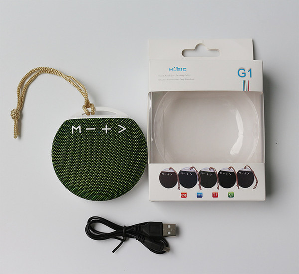 Car Bluetooth Speaker Mini FM Radio Player Portable Wireless Outdoor Fabric Loudspeakers Birthday Gift Speakers Free DHL