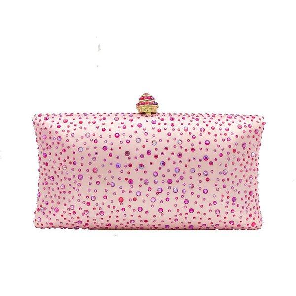 Pink Crystal Bag