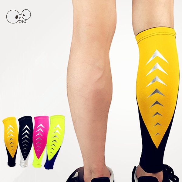 1PCS Compression Calf Sleeve Breathable Running Basketball Football Leg Warmers Outdoor Cycling Sports Safety Fitness Shin Guard