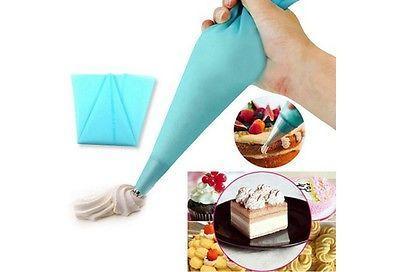 1шт 39см Большие силиконовые многоразовые Обледенение Piping авторучку Крем кондитерский мешок торта украшая инструмент Главная пекарня Инструмент выпекание