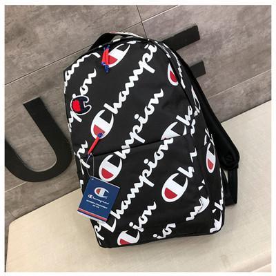 Gelgit Marka Spor Çanta Erkekler için Moda Logo Baskılı Kadınlar Açık Çanta Rahat Öğrenci Okul Çantaları Yüksek Sokak Çift Sırt Çantaları
