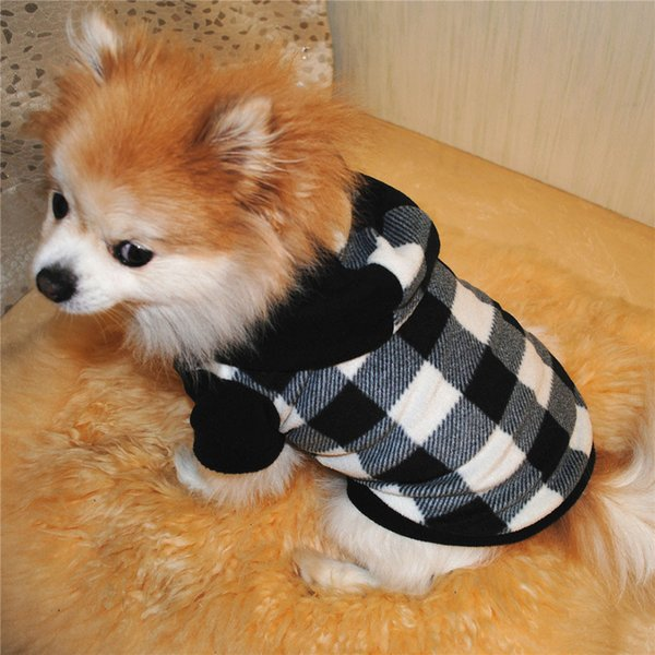 Dog Clothing For Small Dogs Pets Clothing Dog Pet Clothes Hoodie Warm Fleece Puppy Coat Apparel dog clothes