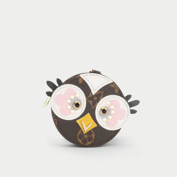 Portachiavi Piccolo nuovo ciondolo uccello amore vecchio marchio fiore Portachiavi borsa appesa ornamenti creativo carino portamonete borsa portachiavi auto