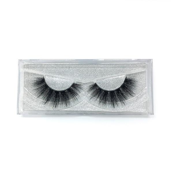 A17 The newest A pair of mink false eyelashes cross eyelashes thick hot sales false eyelash ripple silk eyelash