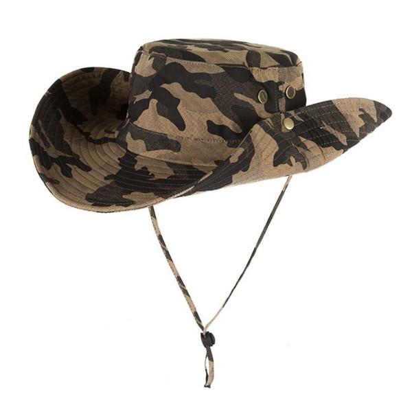 Fishing Hiking Cap Breathable Beach Cap UPF50+ Sun Hat Women Summer Outdoor Men Mesh Bucket Hat Wide Brim UV Protection Flap