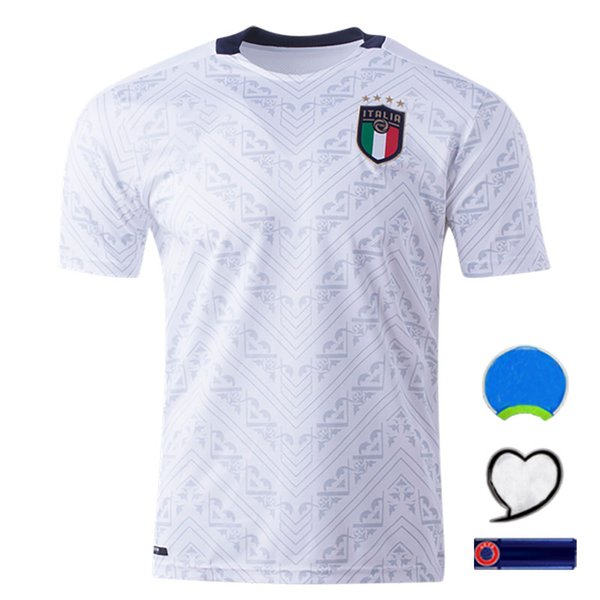 Italia via bianco con la patch europea