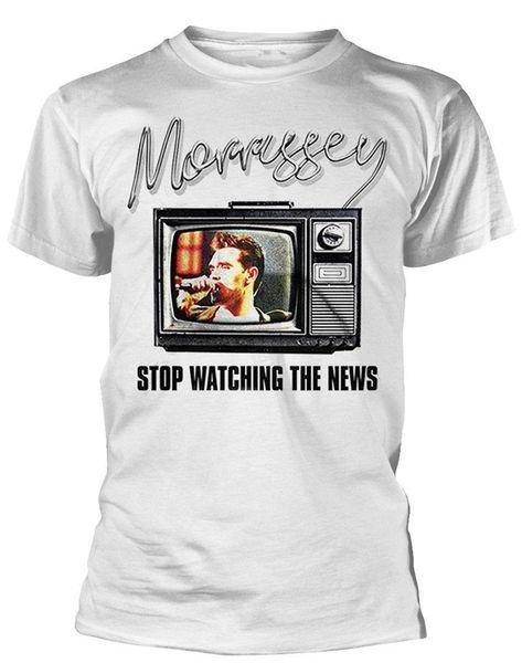 Остановка Моррисси' beobachten новость 'футболка - ной УНД OFFIZIELL