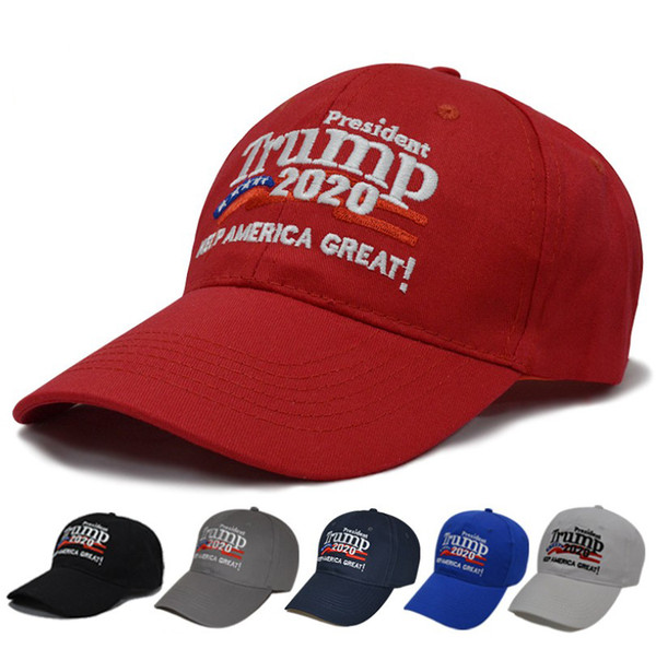 top popular Donald Trump 2020 keep America Great Election Baseball Cap Casual Cotton Caps Embroidery Fitted Snapback Hat 2019