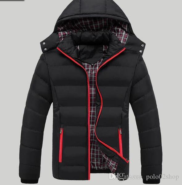 Sıcak satış 2019 iç çamaşırı% 90 yaka kış ceket boyutu M-5XL9836 # aşağı kış ceket erkek ultra hafif aşağı ceket erkek beyaz ördek