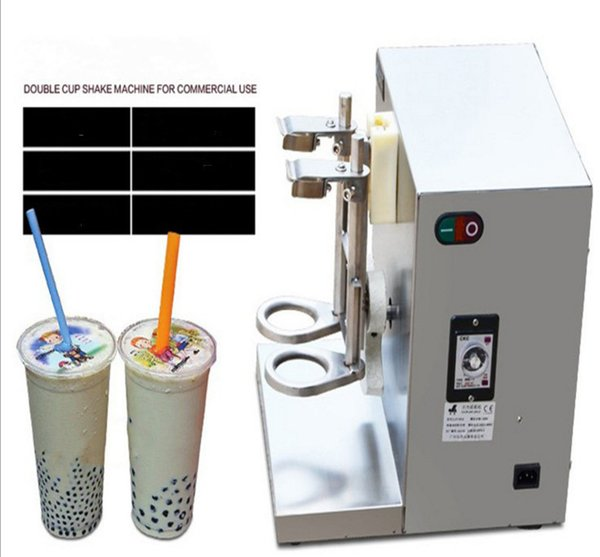 Wholesale LJY120-2 Double-frame Auto boba tea beverage Milk shaking machine Electric Milk Tea Shaker Blender Machine