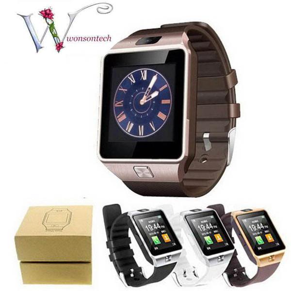 Смарт-часы DZ09 GT08 U8 A1 Wrisbrand Android Смарт-SIM Интеллектуальные часы для мобильного телефона с камерой могут записывать состояние сна
