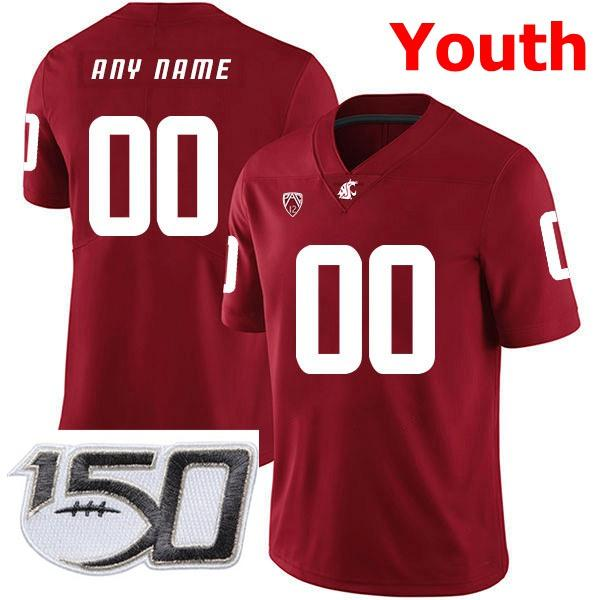 Youth Red With 150th Patch