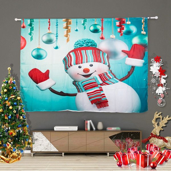 Living Room Curtain Design For Christmas
