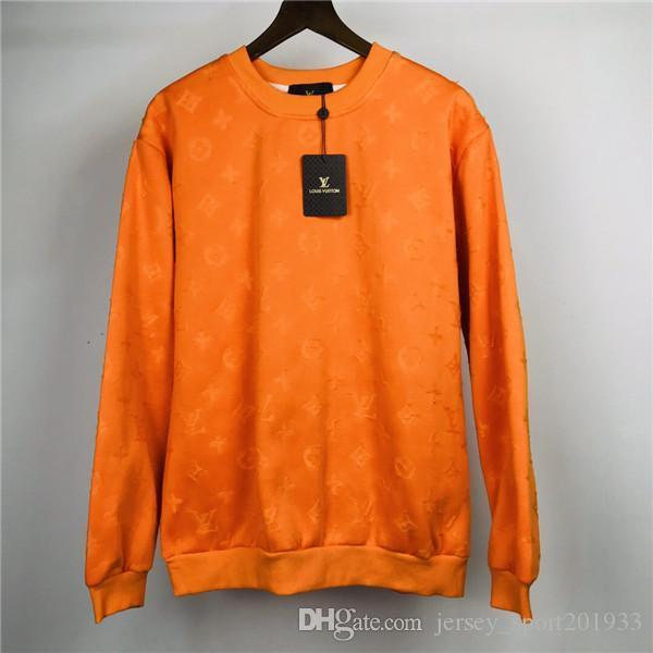 19AW paris L Hoodie V Langarm Kapuzenpullover Mode Kleidung Voll bedruckte Streetwear Freizeitjacke Outdoor Sweatshirts Frauen Männer Mantel