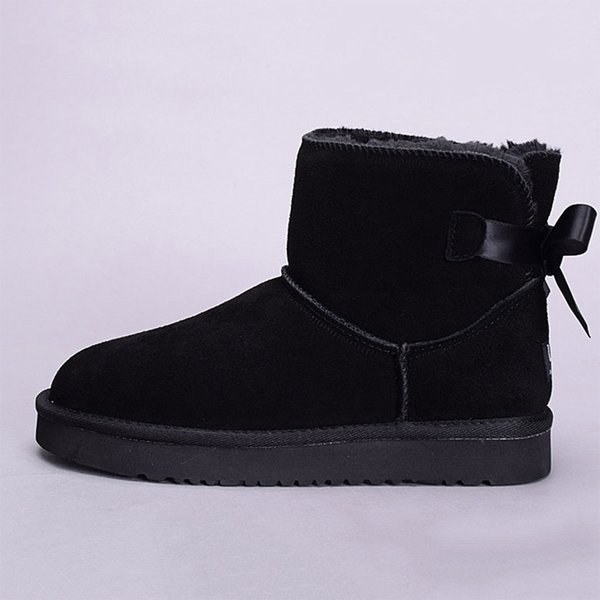 ankle one bow black