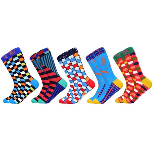 5 pairs of socks-C