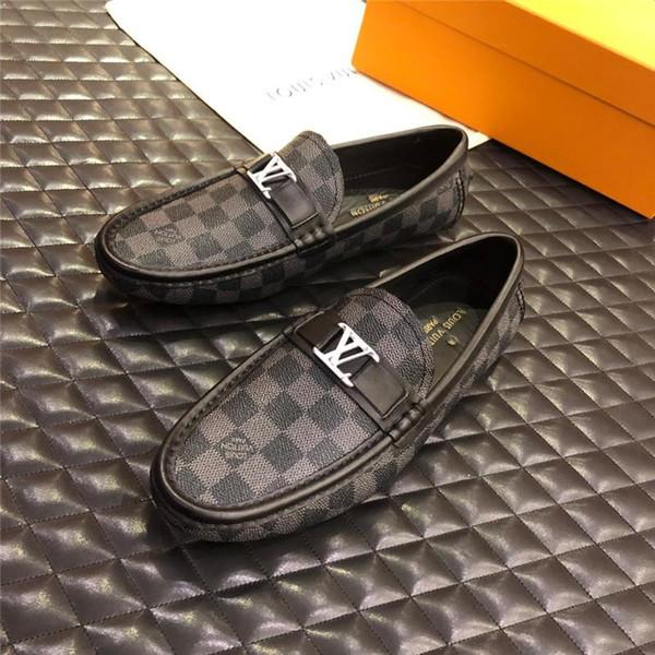 Горячие Продажи 2019 Новый Роскошный Дизайнер Мужчины Бизнес Обувь С Пряжкой Пояса