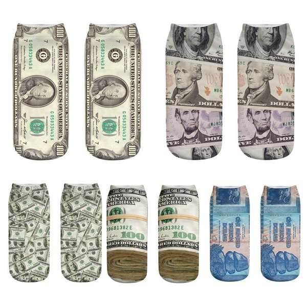2018 New Arrival Owl Cute Casual Work Business Cotton Socks 3D Printing Medium Sports Socks Comfortable Freeship