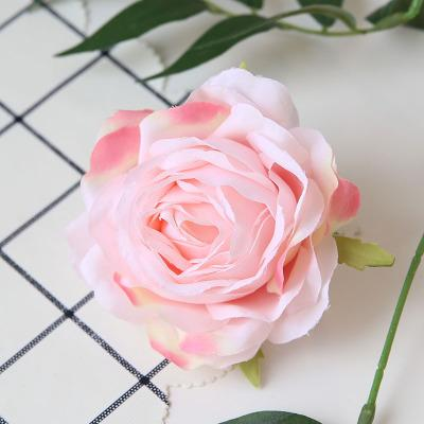 9cm-1 rose flower head