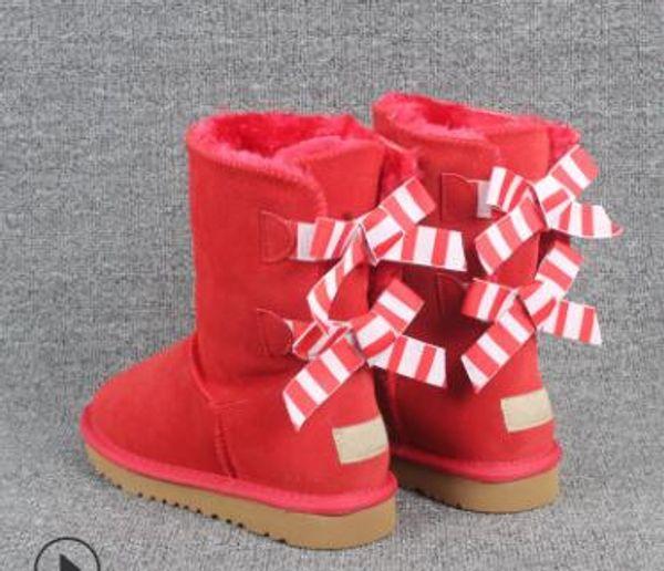 by Lamb Snow Boots Womens Mid-Calf Winter Mini Snow Boots,Non-Slip Warm Snowshoe