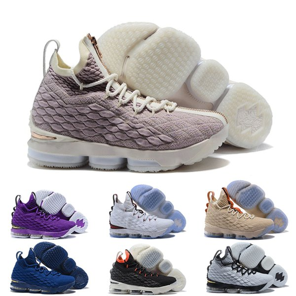 New 2019 Arrival Mens King 15 Luxury Designer Sneakers Shoe High Quality Men 15 Athletic Designer Basketball Shoes Casual Sports Shoes