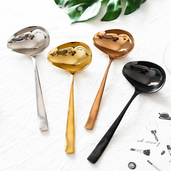 Enfants Vaisselle Cuillère vaisselle Outil Acier Inoxydable 304 Cuillère à soupe