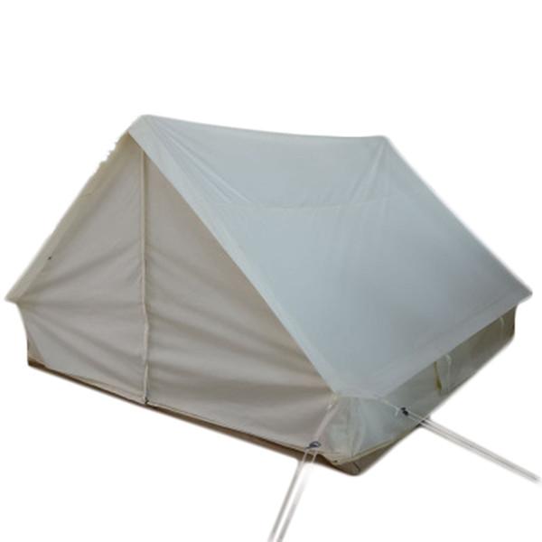 2020 new danchel outdoor heavy duty good space waterproof canvas book tent herringbone tents thumbnail