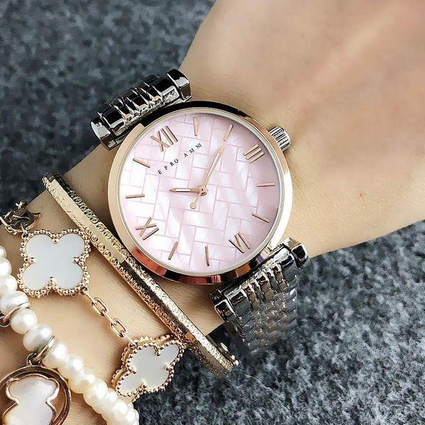 2019 Fashion Ladies Watch Ultra Thin Rose Gold Blue Female Watch ...
